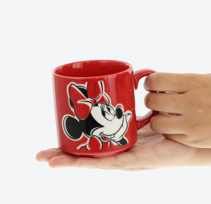 TDR - Mug x Minnie Mouse (Color: Red)