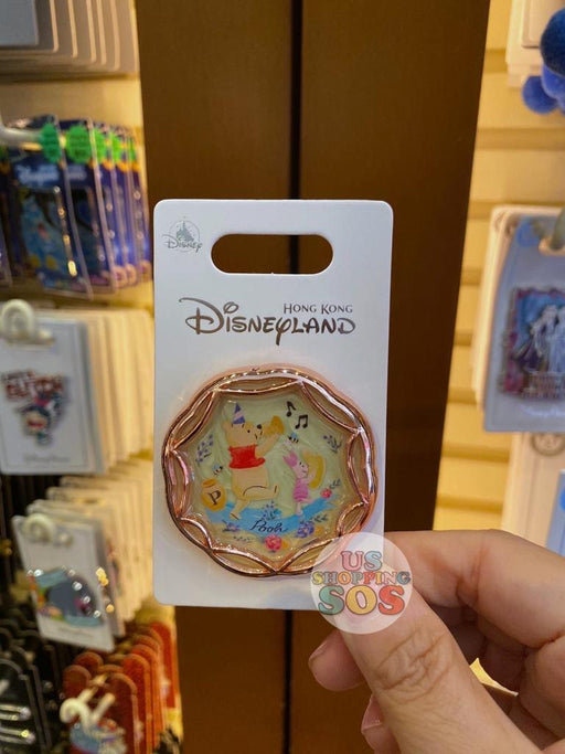 HKDL - Pin x Rose Gold Collection - Winnie the Pooh & Piglet
