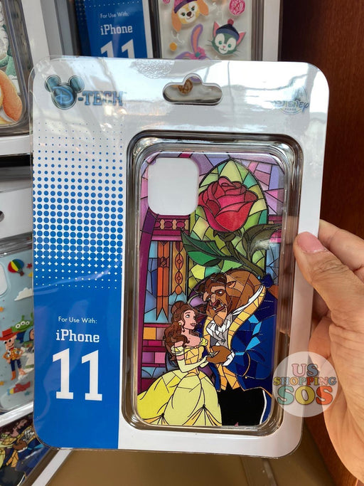 HKDL -  iPhone Case Stained Glass Collection - Beauty and the Beast