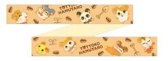 JP Kiddyland - Hamutaro Collection - Masking/Decoration Tapes x digging together masking tape (total pattern)