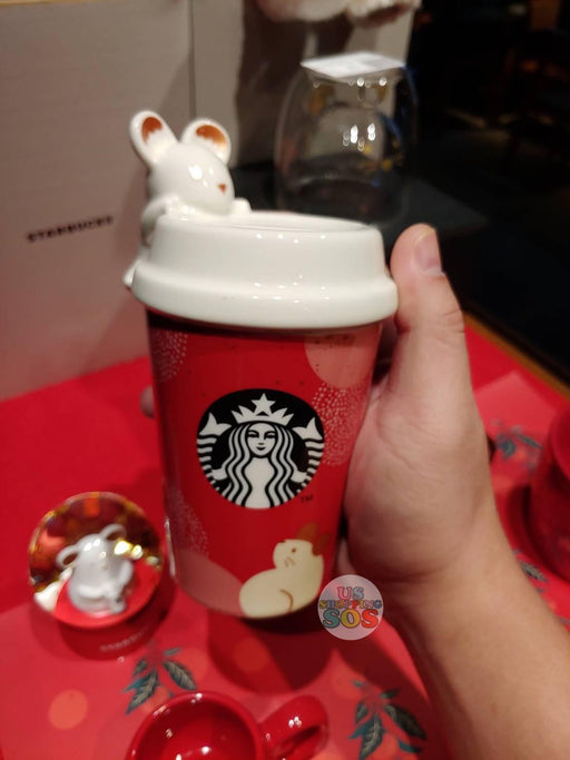 Hong Kong Starbucks - Chinese New Year 2020 Series - The Year of the Rat Bank