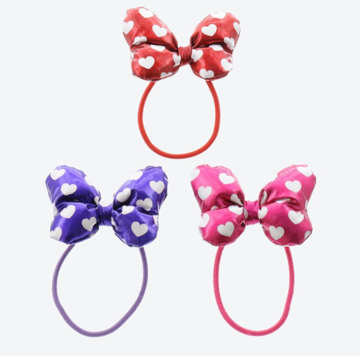 TDR - Hair Rubber/Bands - Minnie Mouse x Shining Bows (For Adults)