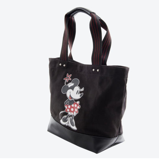 TDR - Black Color Tote Bag x Minnie Mouse (Size L)