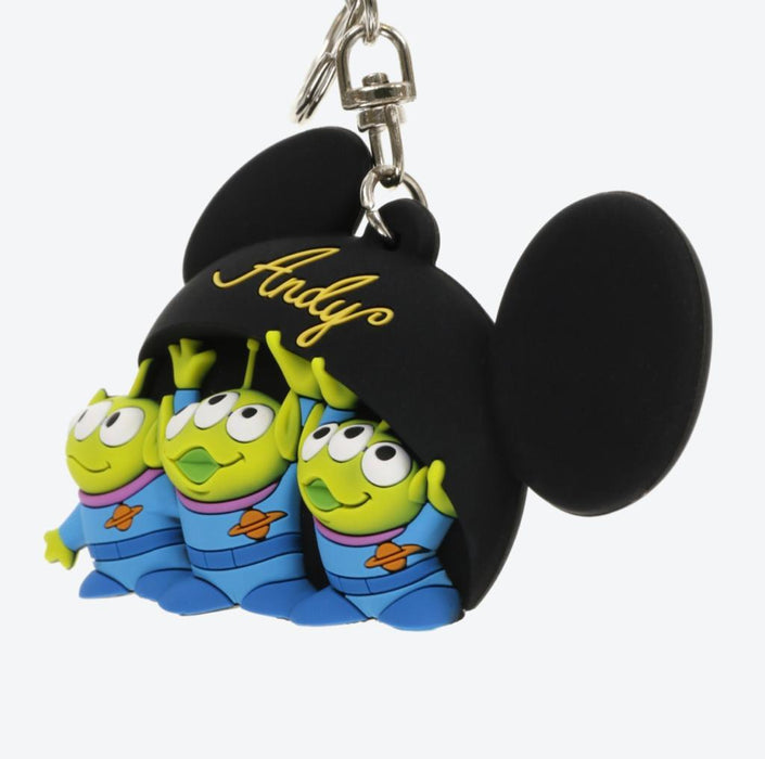 TDR - Keychain x Alien Hiding under Andy's Mickey Mouse Ear