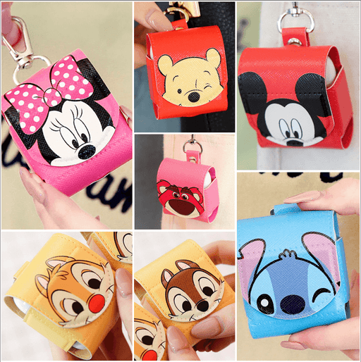 Taiwan Exclusive -Disney Characters AirPods leather case - 7 colors