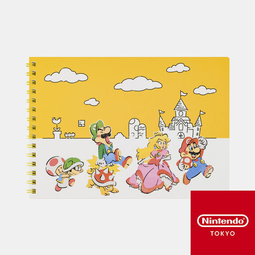 Japan Nintendo - Super Mario Family Life - A5 Ring Notebook
