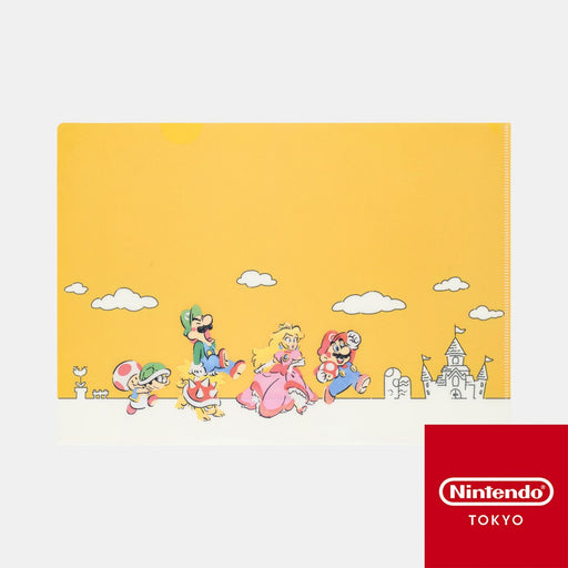 Japan Nintendo - Super Mario Family Life - Clear File A