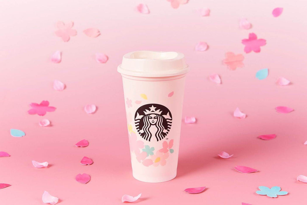 "Starbucks Japan - Sakura ""Spring Breeze"" 2020 - Reusable Cup 473ml"