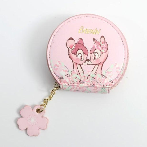Taiwan Exclusive - Spring Cherry Blossom Coin Purse - Bambi