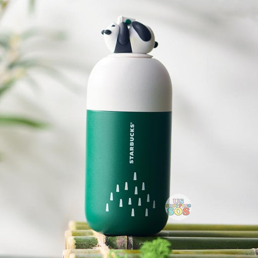 Starbucks China - Bamboo Panda - Capsule-Shape Stainless Steel Bottle 220ml