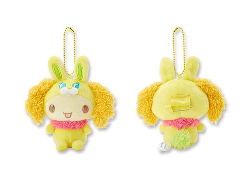 Japan Sanrio Puroland - Cinnamoroll Rabbit Series - Plush Keychain x Chiffon
