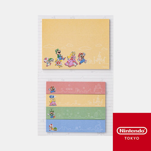 Japan Nintendo - Super Mario Family Life - Post-it Set