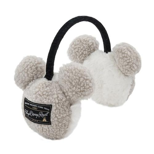 TDR - Fluffy Snow White - Mickey Icon Ear Muffle