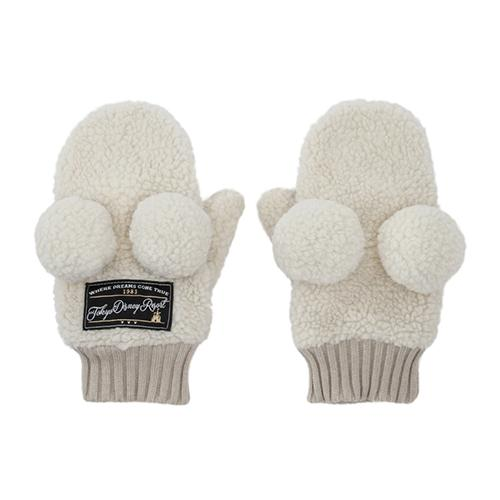 TDR - Fluffy Snow White - Gloves