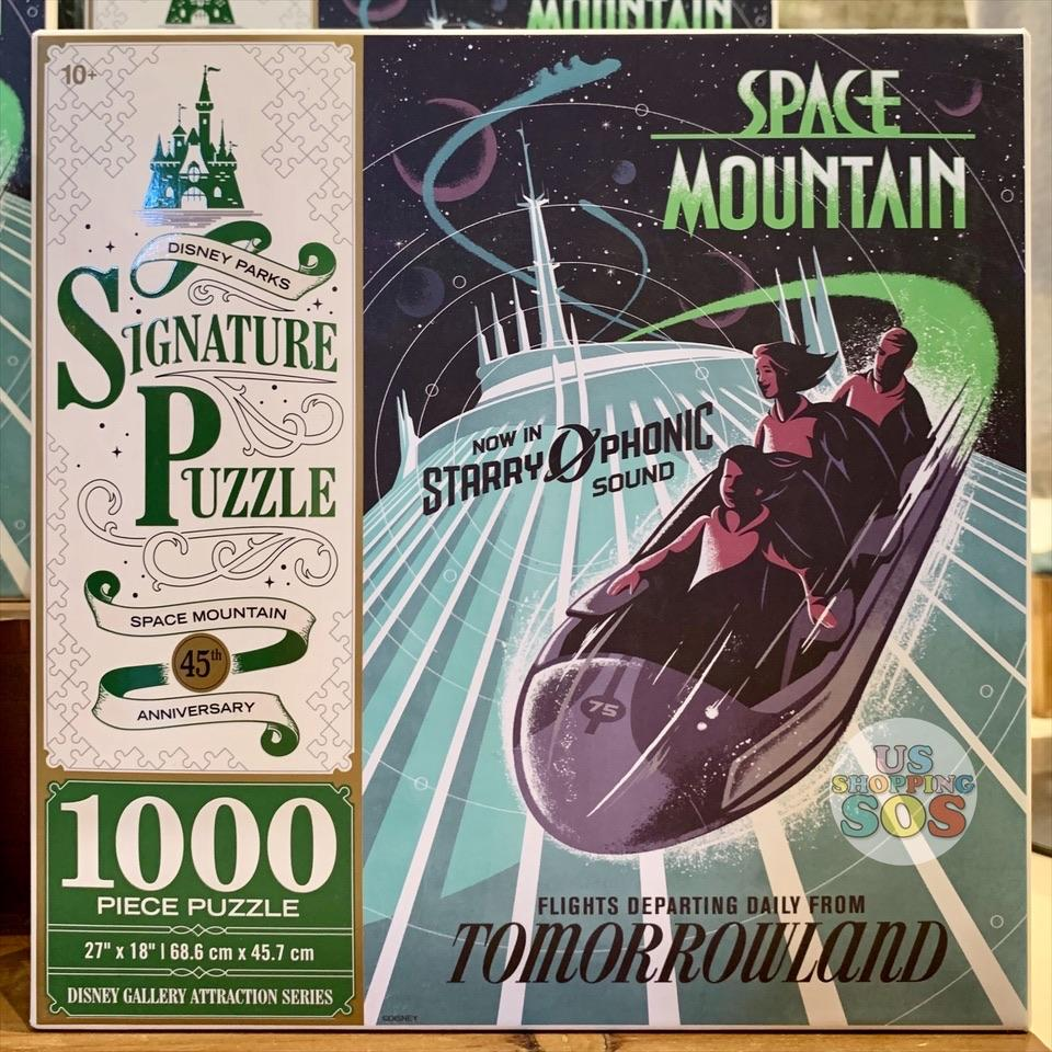 DLR - 1000 Piece Disney Parks Signature Puzzle - Space Mountain 45th Anniversary