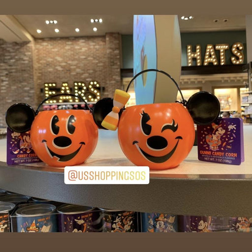 DLR - 🎃 Halloween Time 2020 - Pumpkin Candy Bucket