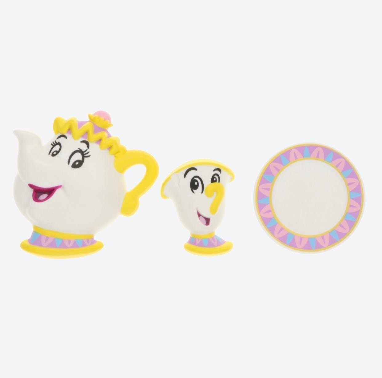 TDR - Beauty and the Beast Magical Story Collection - Magnet Set x Mrs. Potts & Chip