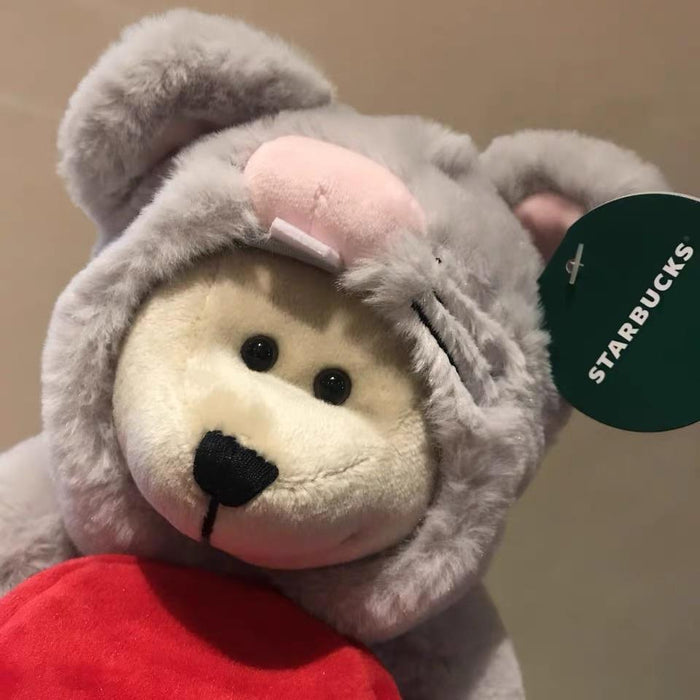 Starbucks China - New Year 2020 Classic Red - New Year Mouse Bearista Plush Toy