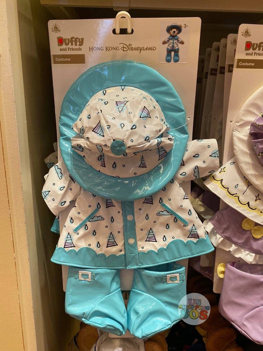 HKDL - Raincoat Collection - Plush Costume x Duffy
