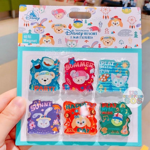 SHDL - Duffy & Friends Summer Camp Collection - Magnets Set