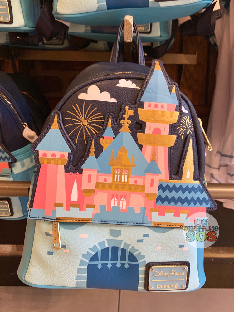 DLR - Loungefly Disneyland Sleeping Beauty Castle Backpack