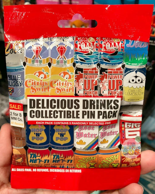 DLR - Mystery Collectible Pin Pack - Delicious Drink