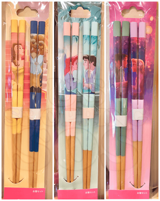 TDR - Disney Couples Chopsticks Set