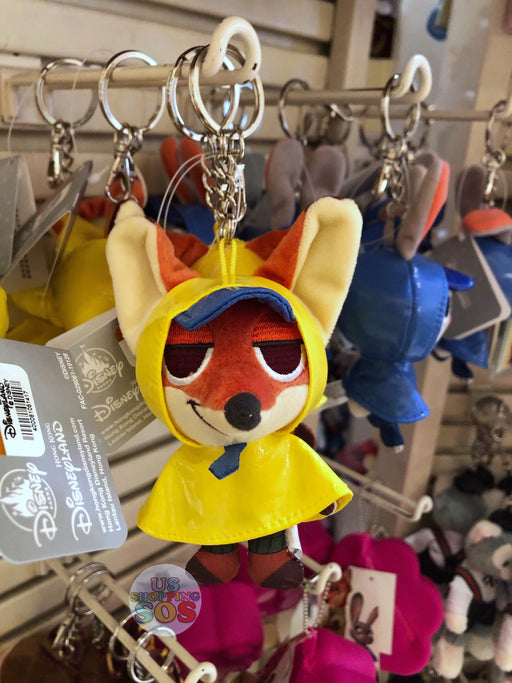 HKDL - Raincoat Plush Keychain - Nick