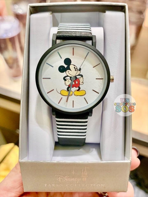 DLR - Disney Parks Jewelry - Classic Mickey Watch Stripe Band