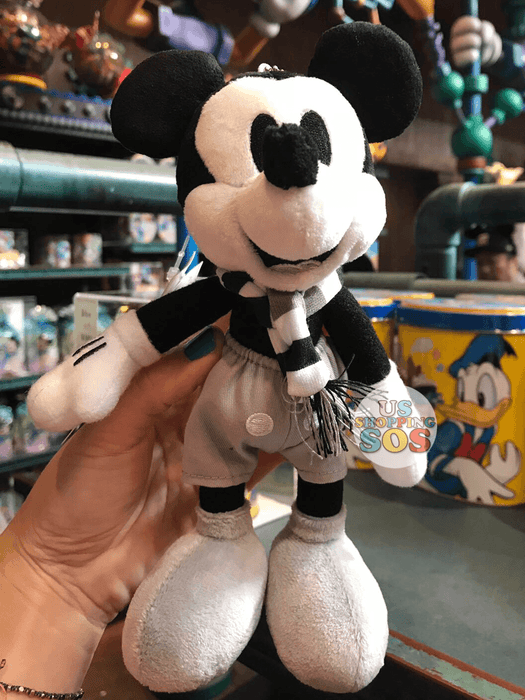 TDR - Mickey's Movie Plush Keychain - Steamboat Willie