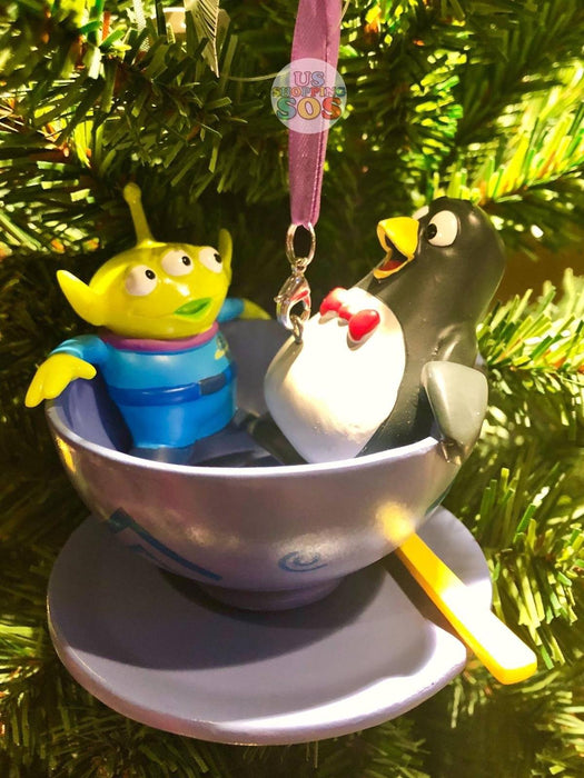 Toy Story Christmas Ornaments.Dlr Sketchbook Ornament Toy Story Alien Wheezy