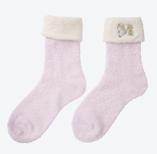 TDR - Fluffy Minnie Mouse Socks (Color: Pink)