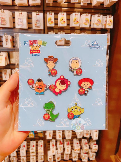 SHDL - Toy Story Land Pin Set by JMaruyama