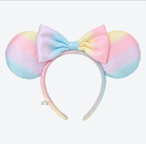 TDR - Cotton Candy Minnie Sequin Headband