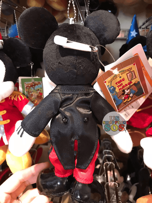 TDR - Mickey's Movie Plush Keychain - Thru the Mirror