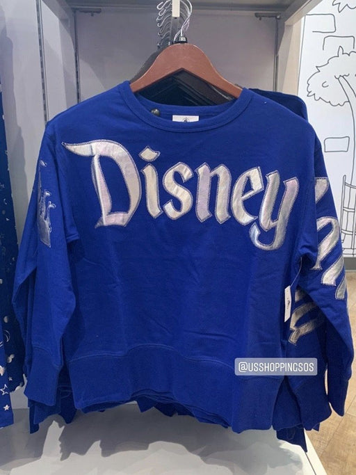 "DLR - Wish Come True Blue 💙 - ""Disneyland"" Spirit Sweatshirt (Adult)"