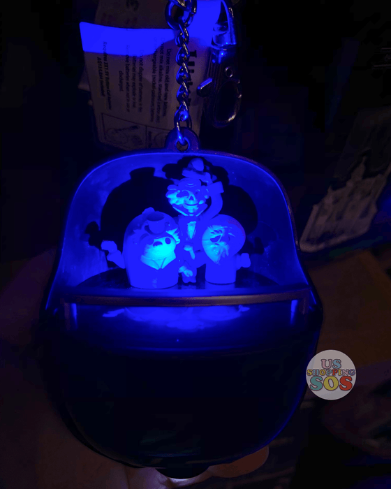 DLR - Haunted Mansion Hitchhiking Ghosts Light Up Keychain