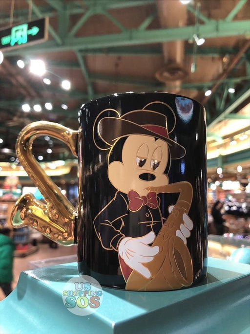 SHDL - The Sound of Shanghai Collection - Mug x Mickey Mouse with Saxophone Handle