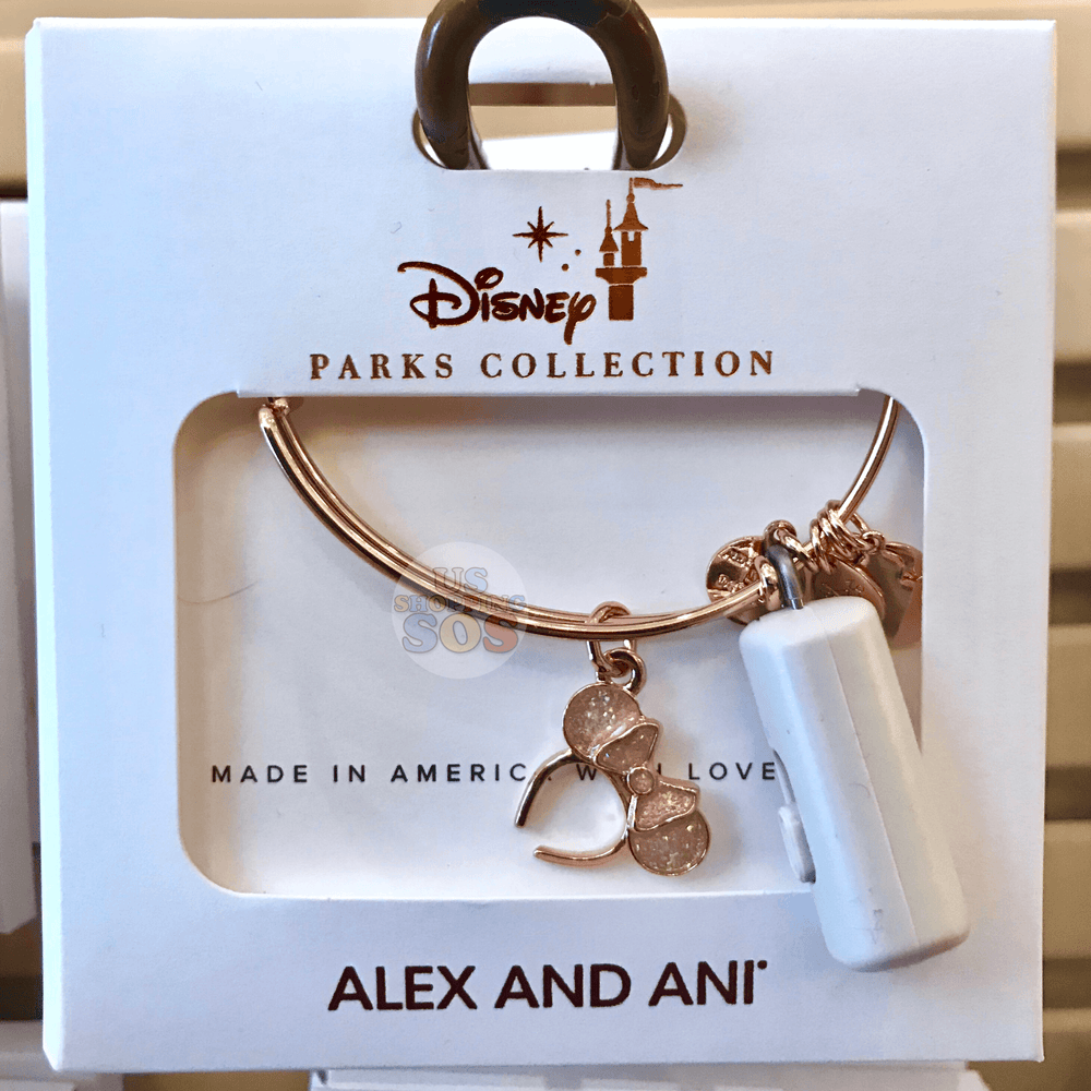 DLR - Alex & Ani Minnie Headband Bangle - Briar Rose Gold