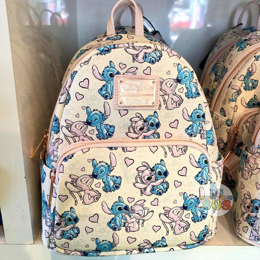 WDW - Loungefly Stitch & Angel Love Backpack