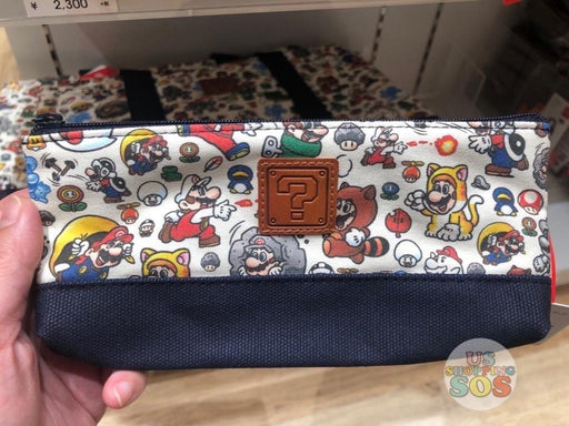 Japan Nintendo - Super Mario All-Over Printed Pouch