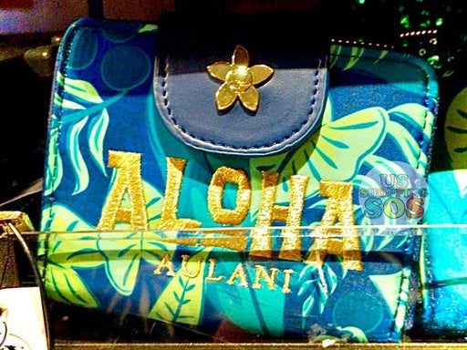 Aulani - Paradise Vibes - Loungefly All-Over-Print Sequin Contrast Wallet