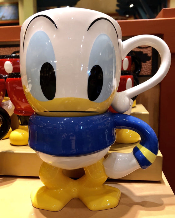 DLR - Face Icon Soup Mug - Donald