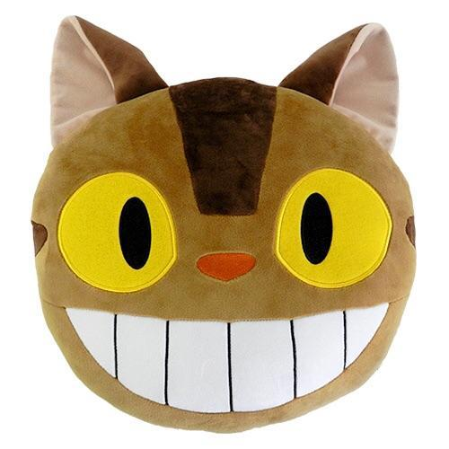 My Neighbor Totoro - The Cat Bus Face Icon Cushion