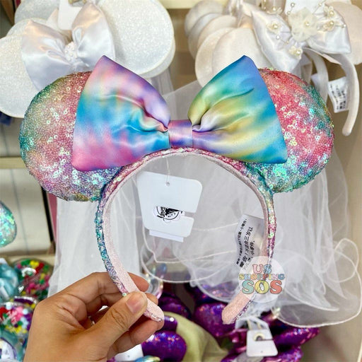 DLR - Minnie Cotton Candy Sequin Headband