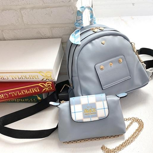 Taiwan Exclusive - Disney Afternoon Tea Series 2-in-1 Crossbody Bag & Backpack - Alice