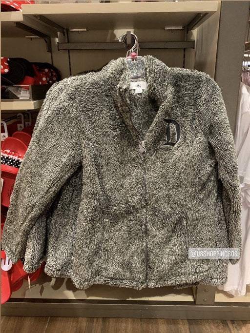 "DLR - ""D"" Spirit Fluffy Jacket - Dark Grey"