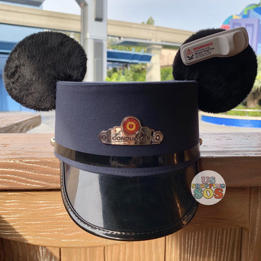 DLR - Mickey Mouse Conductor Ear Hat (Adult Size L/XL)