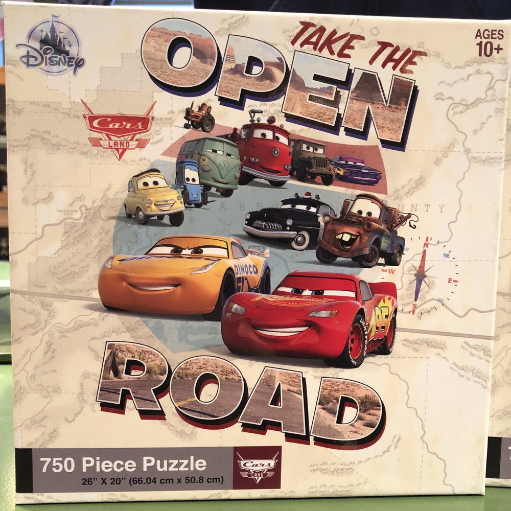 "DLR - 750 Piece Disney Parks Puzzle - Cars Land ""Take the Open Road"""