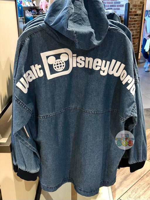 "WDW - Spirit Jersey ""Walt Disney World"" Hoodie Denim (Adult)"